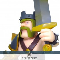 Barbarian King - Clash of Clans - 5,9""