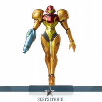 "Samus Aran - Metroid - Réplica Amiibo - 3,9"""