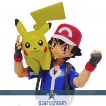 "Ash & Pikachu - Pokémon - 4,5"""