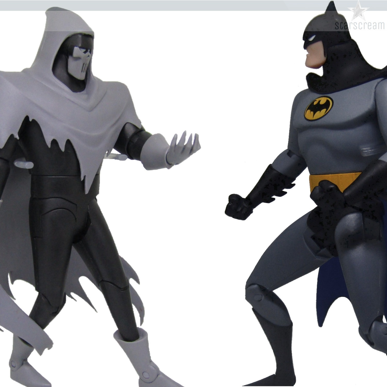 (Set) Batman & Phantasm - Mask of the Phantasm Animated Movie - 6,4''