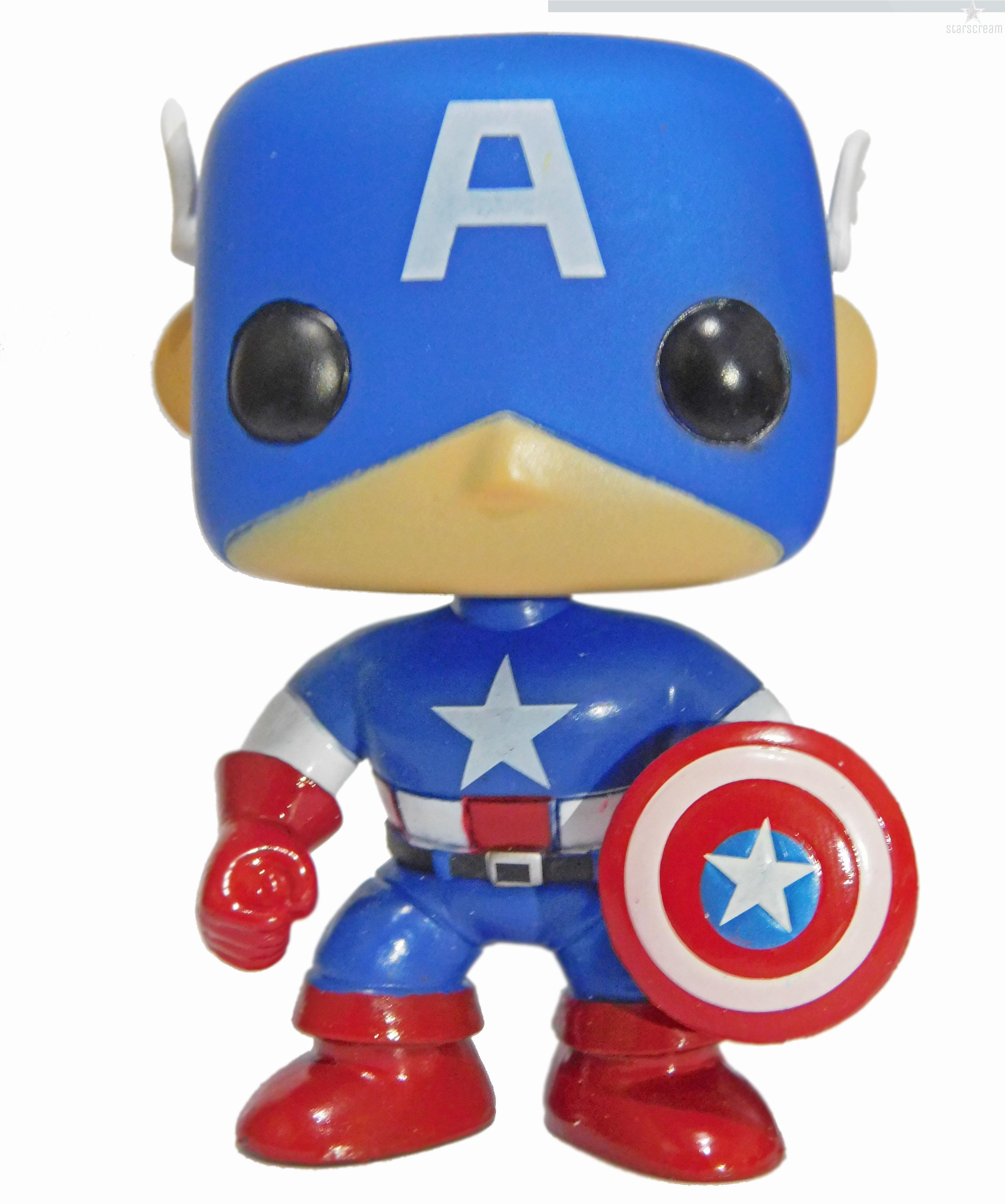 """Capitão América - Réplica Funko -  4"""""""