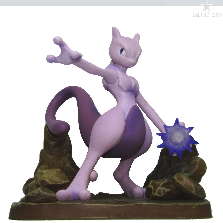"""Mewtwo - Pokémon - 4,3"""""""