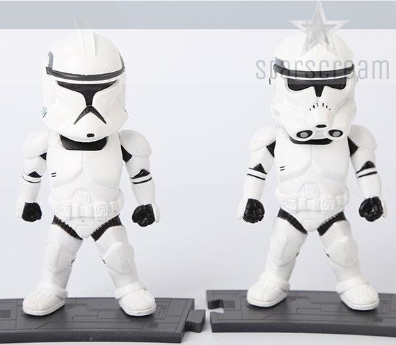 (Set) Clone Trooper & StormTrooper