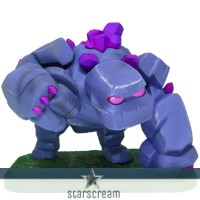 Golem - Clash of Clans - 4,5""