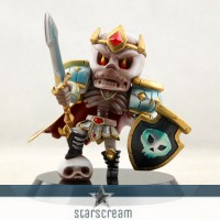 Skelleton King - Dota - 3,9""