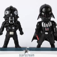 "(Set) Shadow Trooper & Darth Vader - Star Wars - 3,7"""
