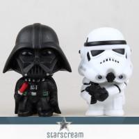 """(Set) Darth Vader & Storm Trooper - Star Wars - 3,9"""""""