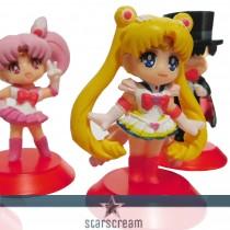 "(Set) 5 Sailor Moons - 1,6"""