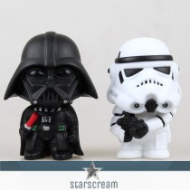 (Set) Darth Vader & Storm Trooper - Star Wars - 3,9""